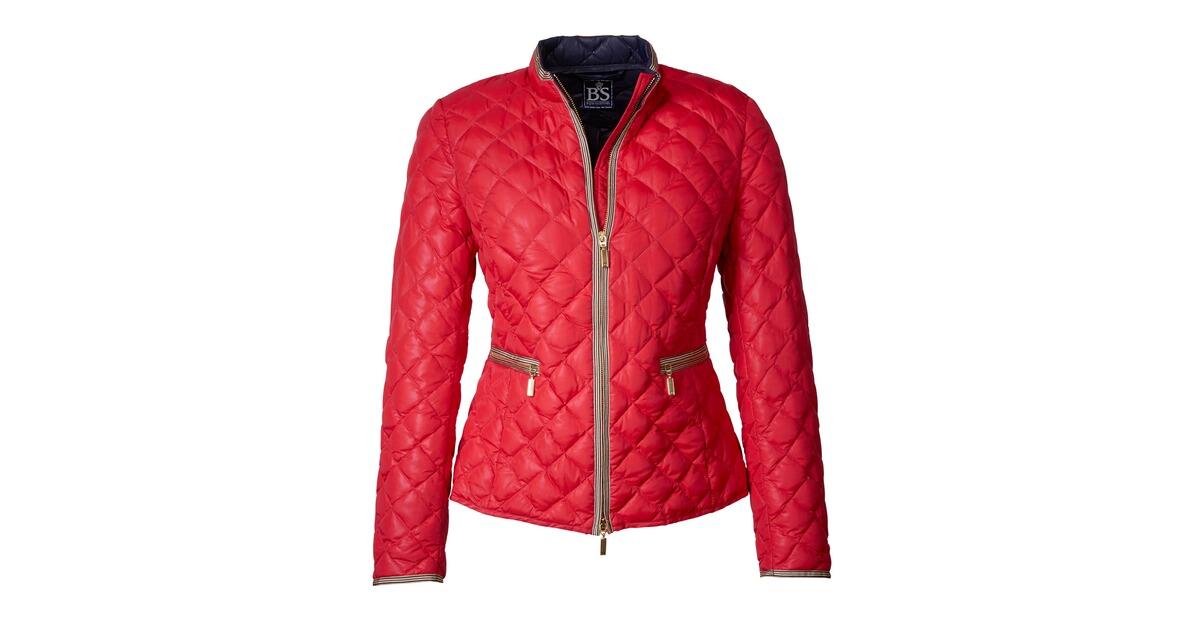 Brigitte von sch nfels sommerdaunen jacke rot jacken for Brigitte hachenburg katalog bestellen
