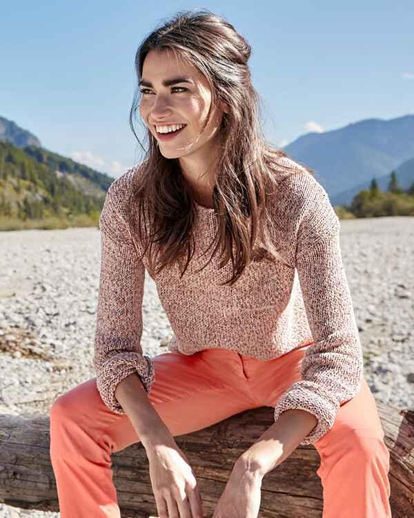 brax pullover liz orange pullover bekleidung damenmode mode online shop. Black Bedroom Furniture Sets. Home Design Ideas