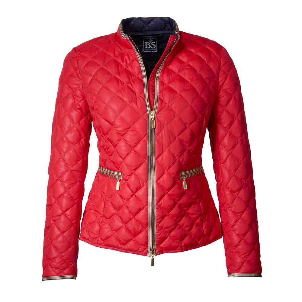 brigitte von sch nfels sommerdaunen jacke rot jacken bekleidung damenmode mode online. Black Bedroom Furniture Sets. Home Design Ideas