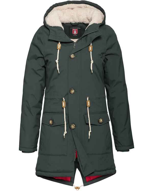 Parka Festland Friese, Derbe