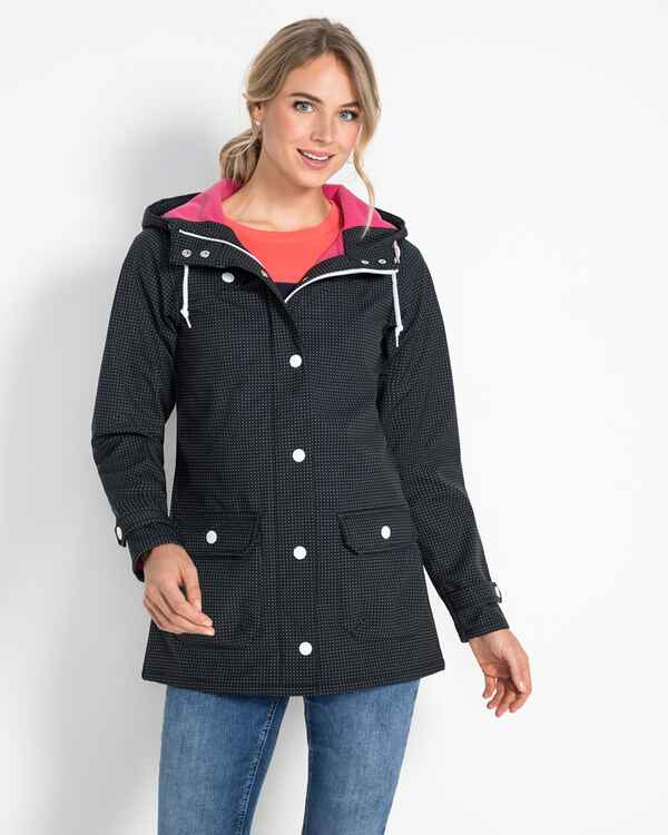 Softshell-Parka Peninsula, Derbe