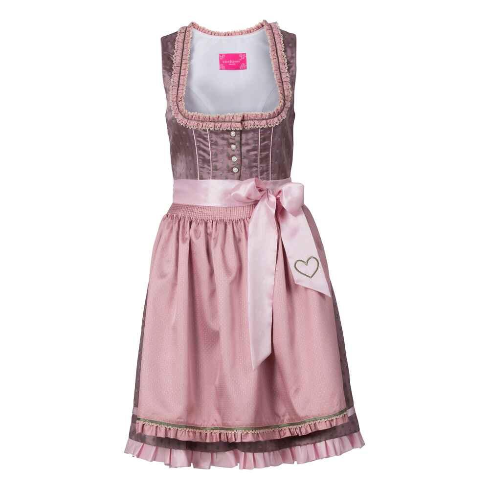 kr ger madl midi dirndl rosa dirndl kleider bekleidung damenmode mode online shop. Black Bedroom Furniture Sets. Home Design Ideas