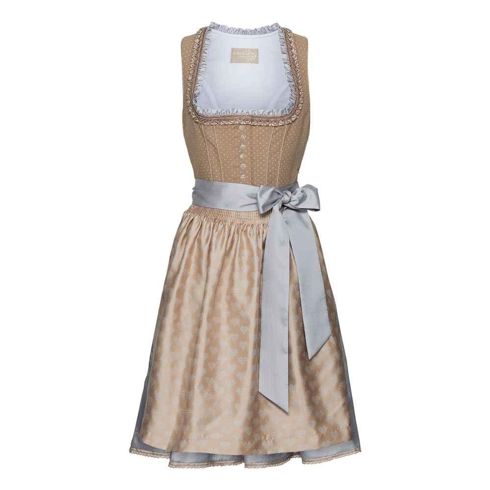 kr ger collection midi dirndl beige dirndl kleider bekleidung damenmode mode online. Black Bedroom Furniture Sets. Home Design Ideas