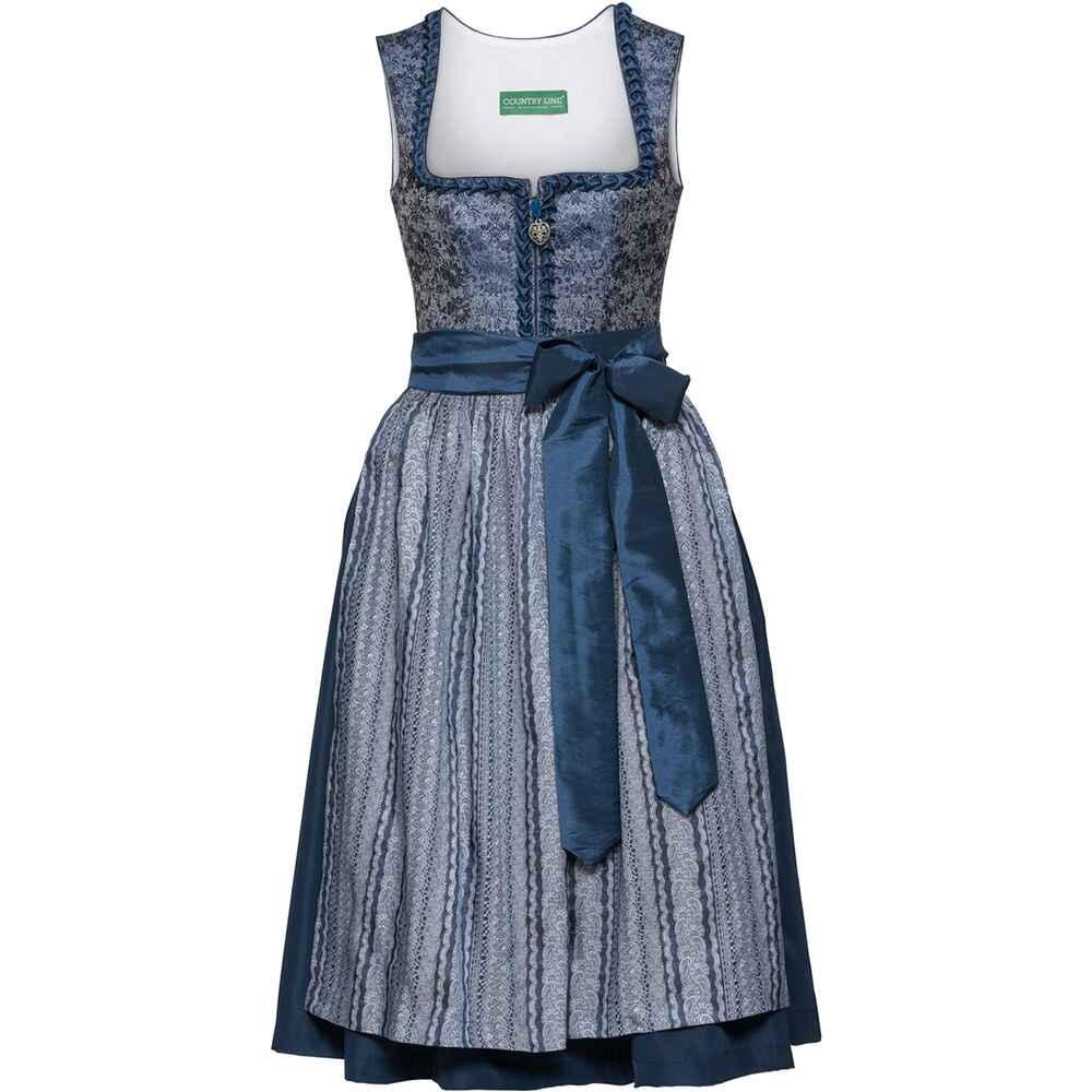9b6db99b90d4b2 Country Line Midi Dirndl (Blau) - Dirndl & Kleider - Bekleidung ...
