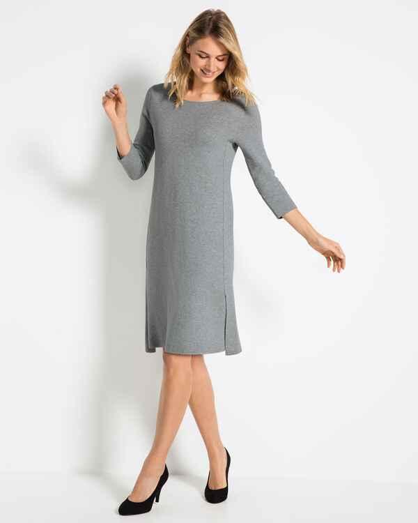 Lieblingsstuck Strickkleid Lillianl Silver Kleider Bekleidung Damenmode Mode Online Shop Frankonia