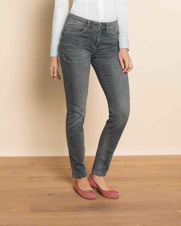 mac jeans angela pipe grau l32 hosen bekleidung. Black Bedroom Furniture Sets. Home Design Ideas