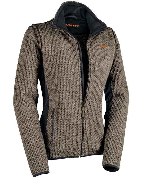 wholesale dealer 75959 ca58d Blaser Damen Woll-Fleece-Jacke