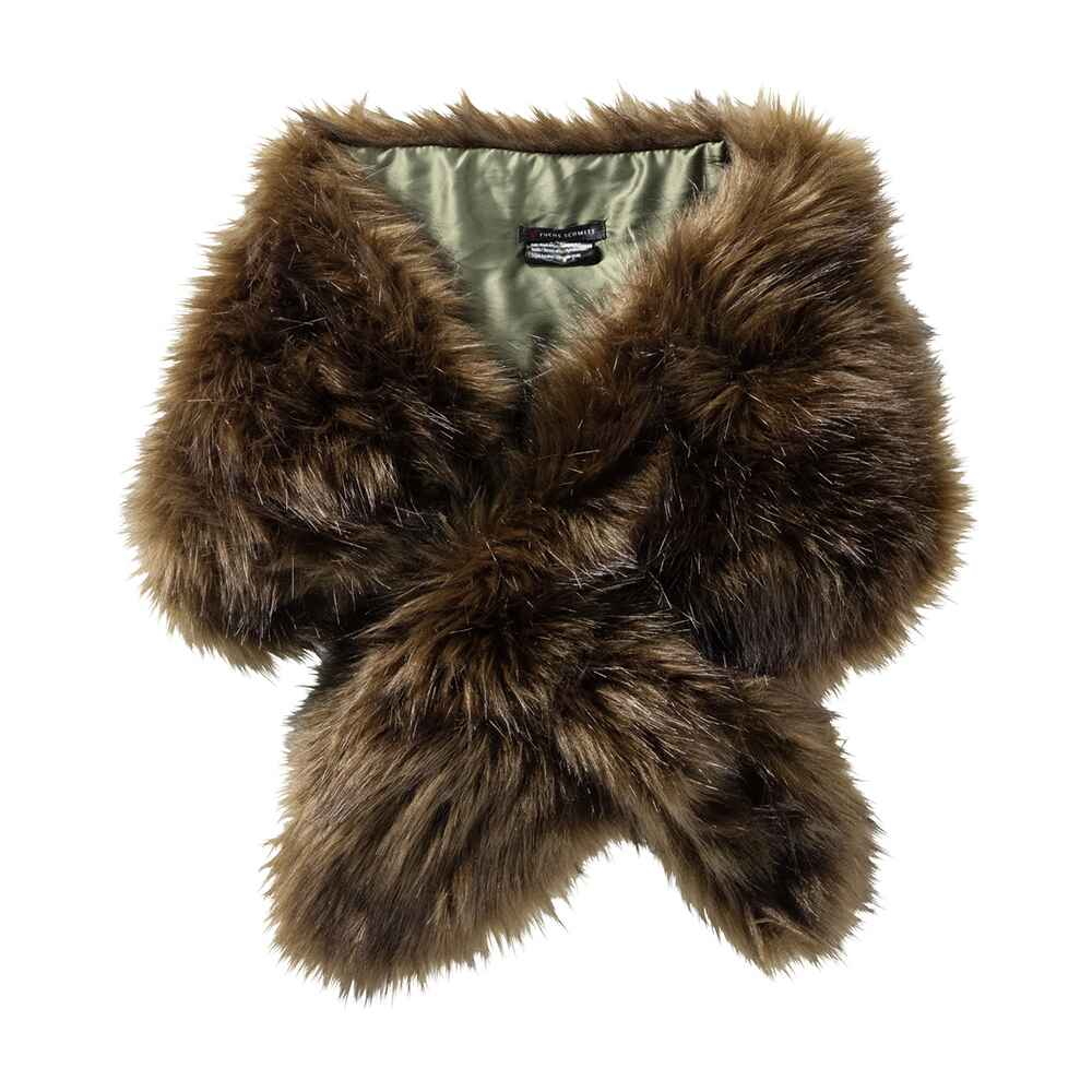 fuchs schmitt schal fake fur gr n schals t cher accessoires damenmode mode online. Black Bedroom Furniture Sets. Home Design Ideas