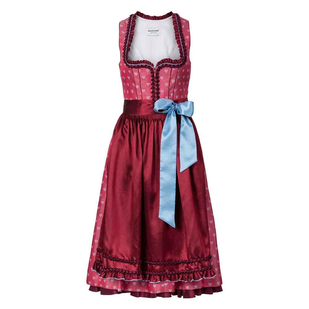 kr ger madl midi dirndl pink dirndl kleider bekleidung damenmode mode online shop. Black Bedroom Furniture Sets. Home Design Ideas