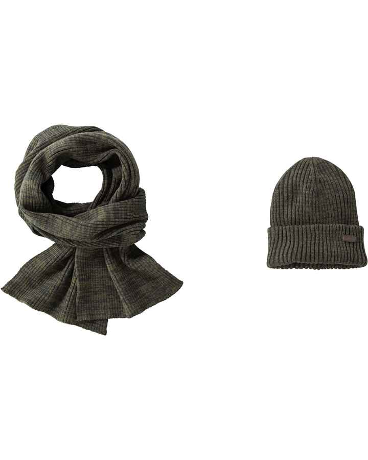 Set Mütze & Schal Crimdon, Barbour