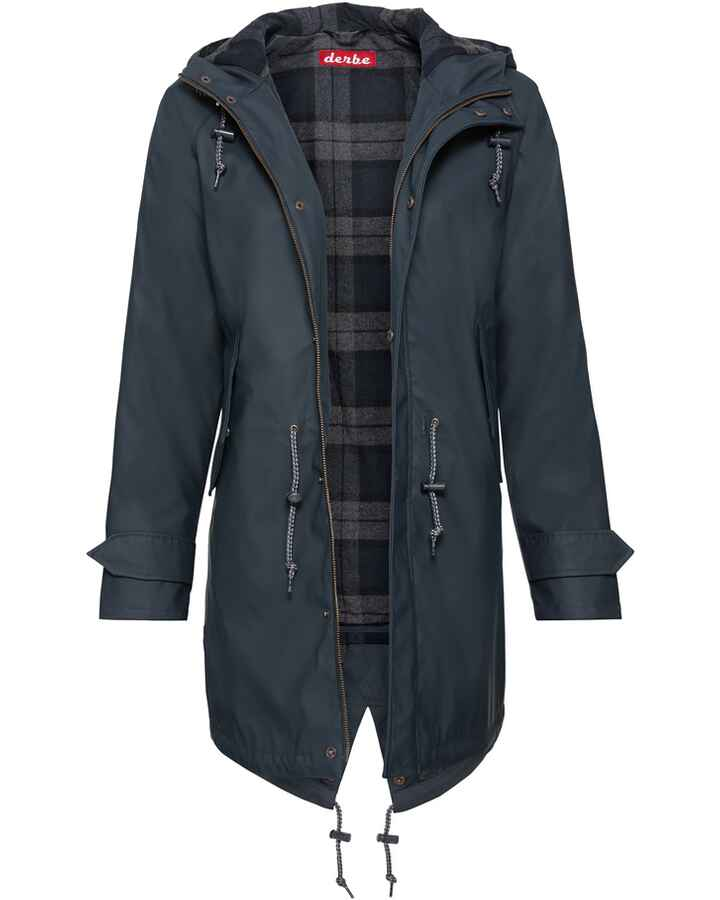 Parka Travel Friese Check Girl, Derbe