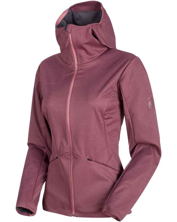 Damen Softshelljacke Ultimate V Tour SO Hooded, Mammut
